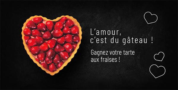 Participez à notre jeu et gagnez votre pâtisserie de Saint-Valentin