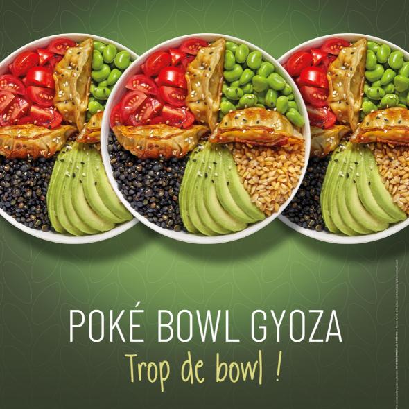 produit star : Poké Bowl Gyoza