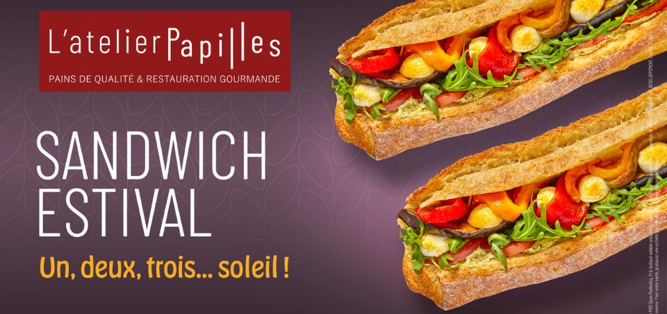 Produit star : Sandwich Estival