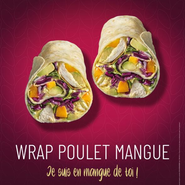 Produit star : Wrap Poulet Mangue